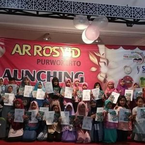 Launching Buku Karya Para Penulis Cilik Banyumas