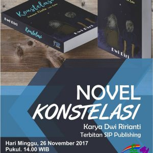 Launching Novel Konstelasi Sebuah Karya Penulis Muda Banyumas