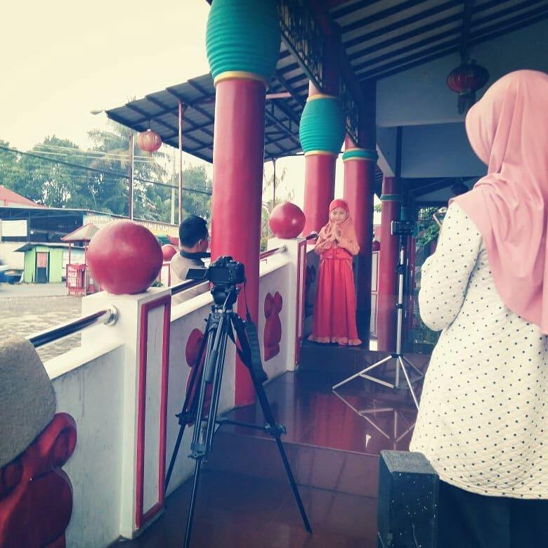 shooting video klip ramadhan mulia
