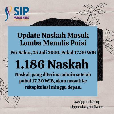 Update 1186 Naskah Puisi Eidetik 2 per 25 Juli 2020