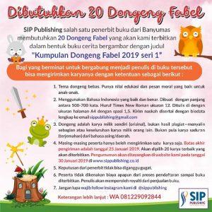 Update Info Event Menulis Dongeng Fabel