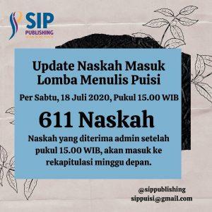 Update Naskah Lomba Puisi per 18 Juli 2020