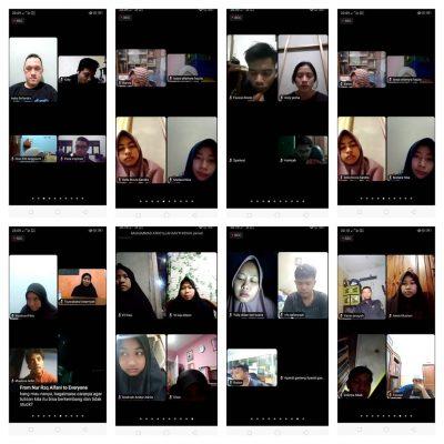 Kelas Puisi via Zoom Bersama Kak Nana Sastrawan