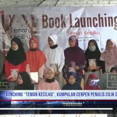 """Peluncuran Buku """"Teman Cilik"""" diliput Temanggung TV"""