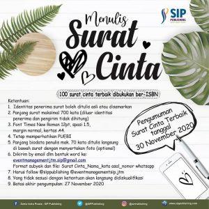 Event Menulis Surat Cinta Bersama SIP Publishing