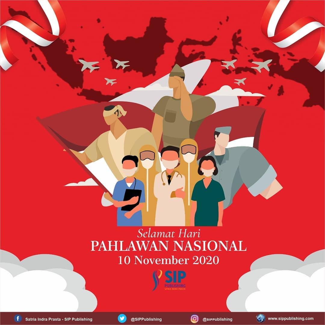 poster selamat hari pahlawan