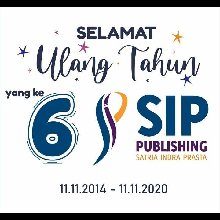 selamat ulang tahun sip publishing yang ke 6