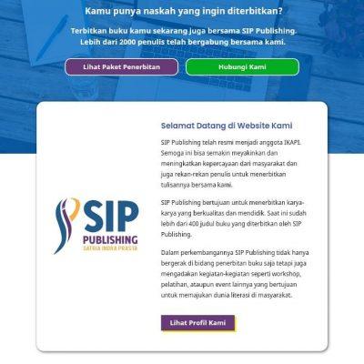 Website SIP Publishing Sudah Dikunjungi Lebih  Dari 10.000 Orang