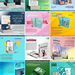 Instagram Khusus Buku Terbitan SIP, yuk difollow