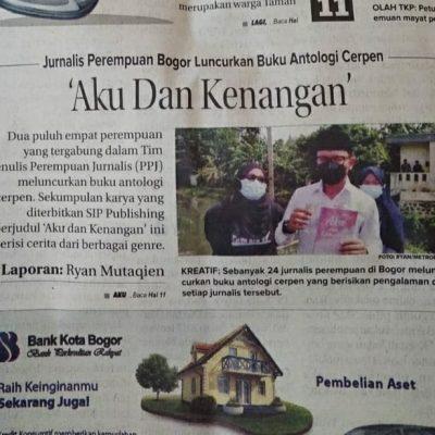 """Liputan Media Peluncuran Buku """"Aku dan Kenangan"""" di Bogor"""