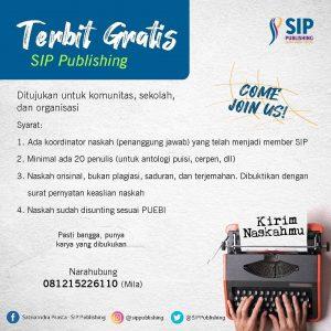 Program Terbit Gratis SIP Publishing