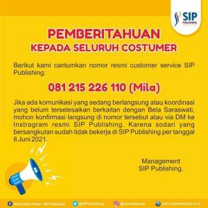 Nomer Resmi Customer Service SIP Publishing