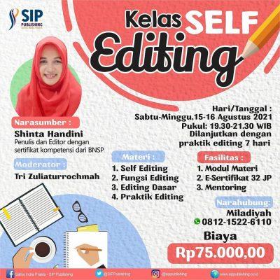 Kelas Self Editing