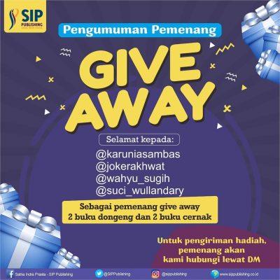Pengumuman Pemenang Giveaway