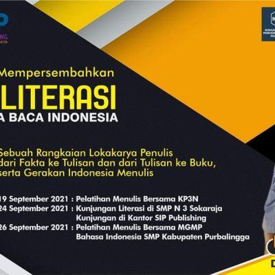 Safari Literasi Bersama Duta Baca Indonesia